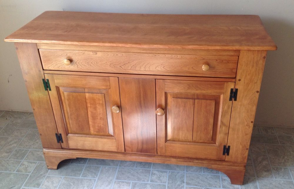Genuine Cushman Colonial, Rock Maple, Hutch, Sideboard, Made In Usa #CUSHMAN #Colonial