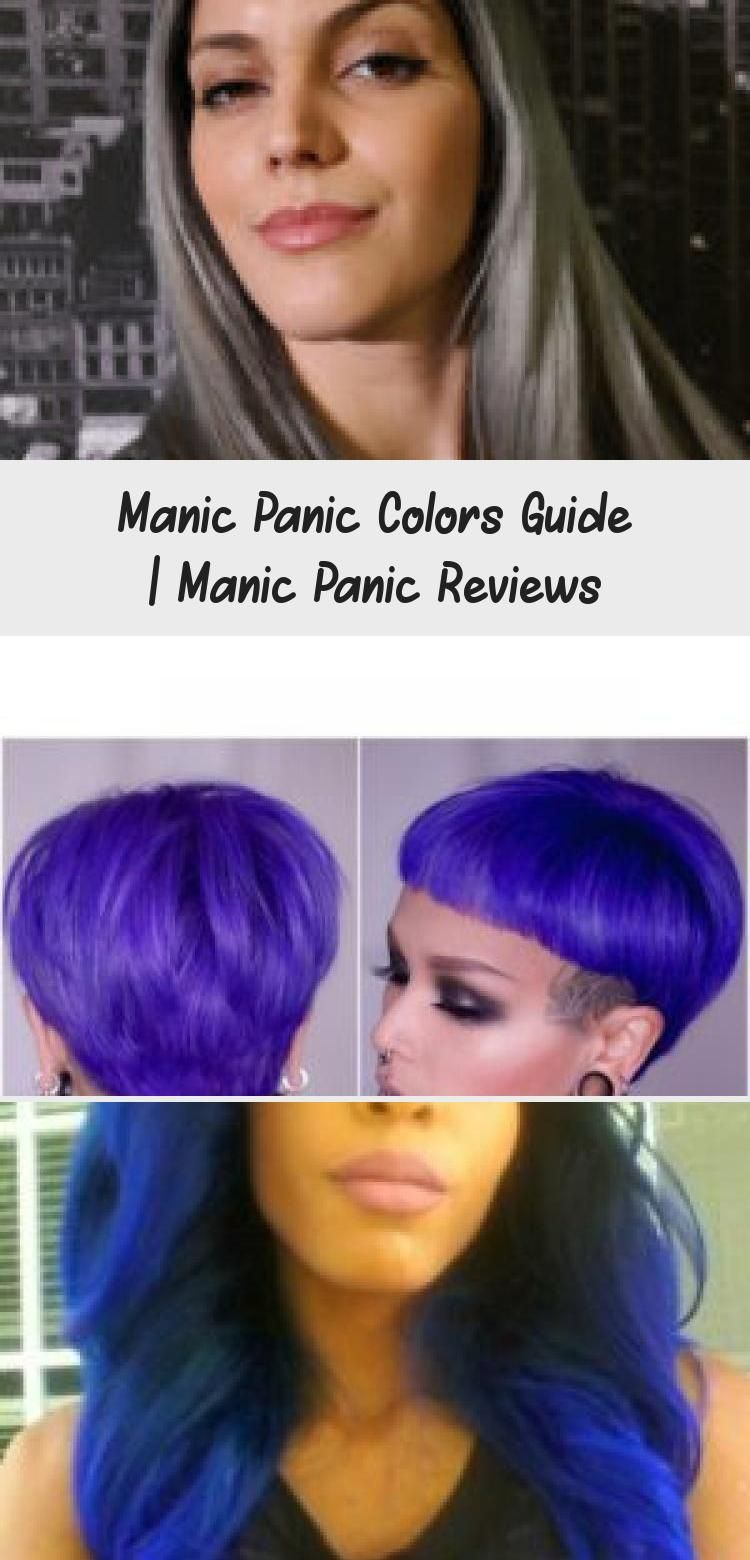 Manic Panic Colors Guide Manicpanic Colors Hairdye Guide Dyedhairstreaks Dyedhairtumblr Dyedhairrainb In 2020 Manic Panic Colors Manic Panic Reviews Manic Panic