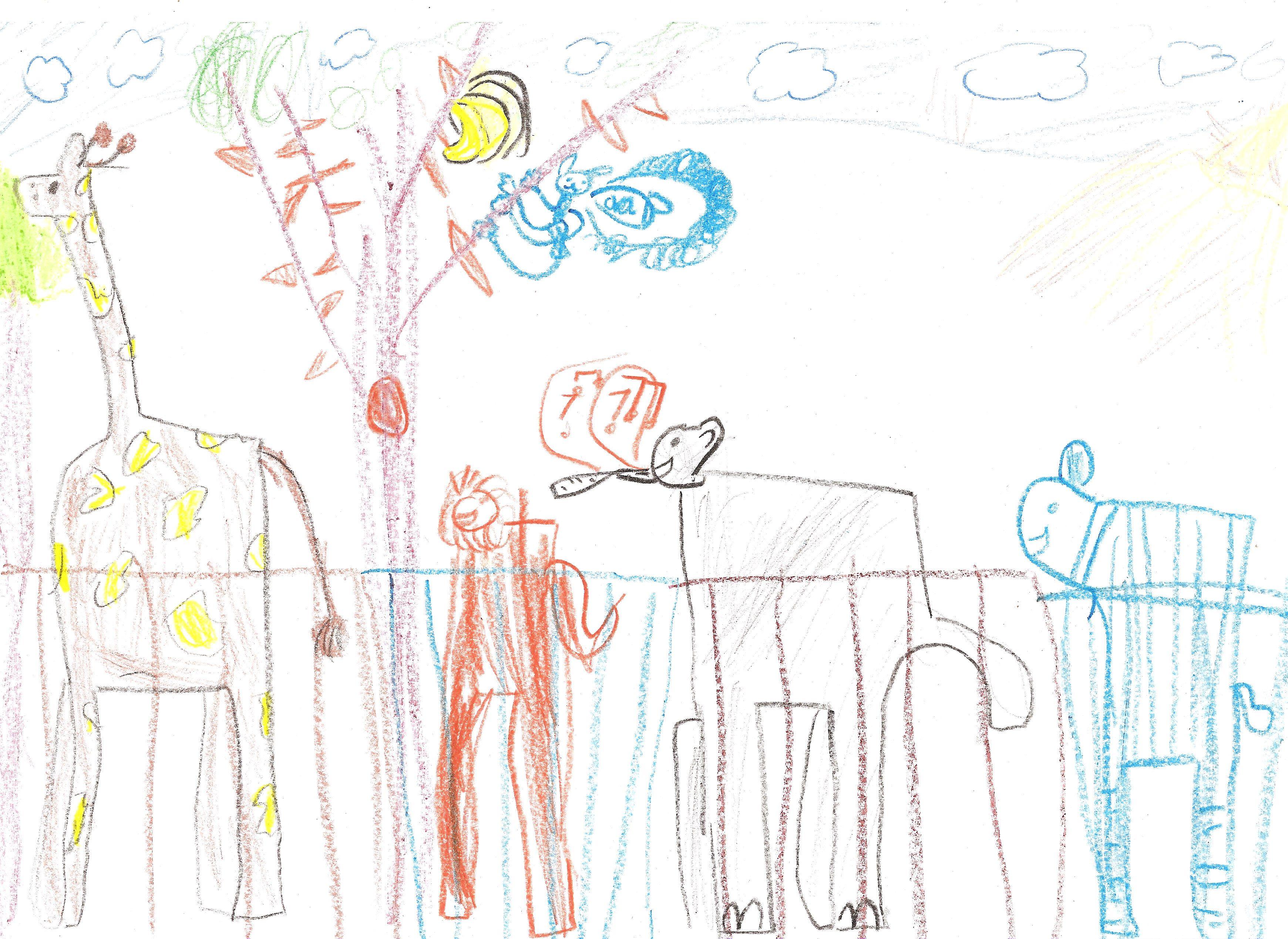 """""""Dierentuin"""" (6 jaar)"""