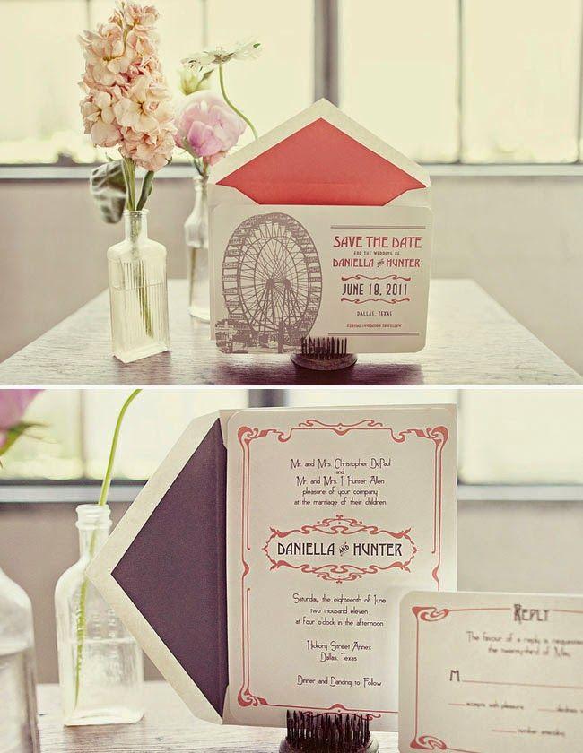 1920s Wedding Theme Wedding Invitation Httpsimpleweddingstuff