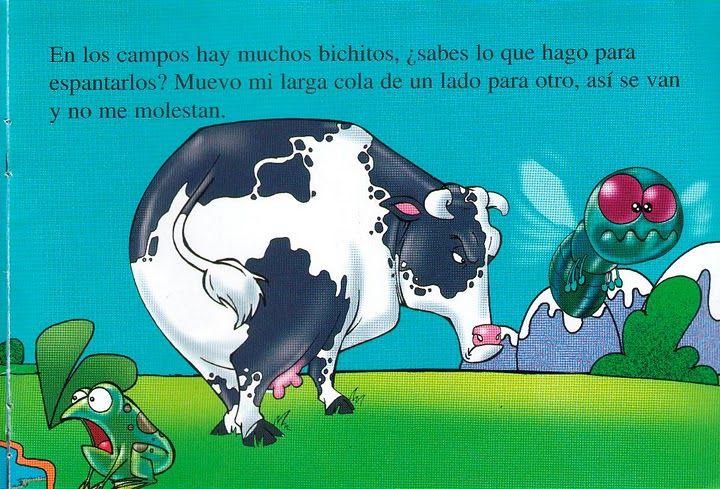 cuento yo soy la vaca 6 animales de granja