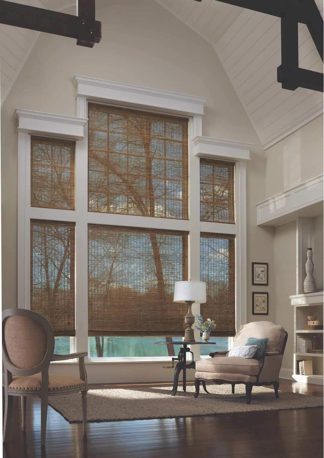 Two Story Window Treatments Living Room Windows Diy Window