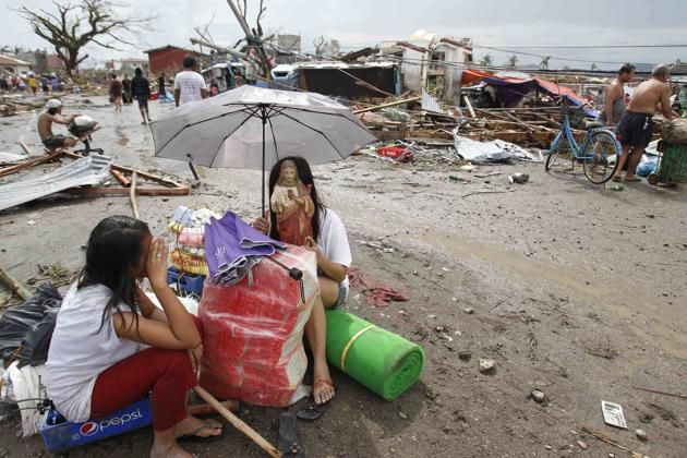 Typhoon aid for the Philippines