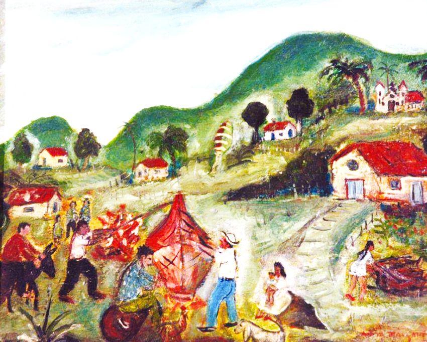 Pinturas De Festas Juninas E A Pintura Naif Brasileira Pintura