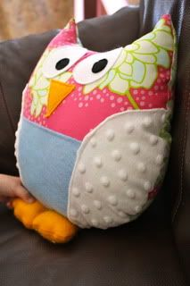 cute owl and link for the tutorial for kids