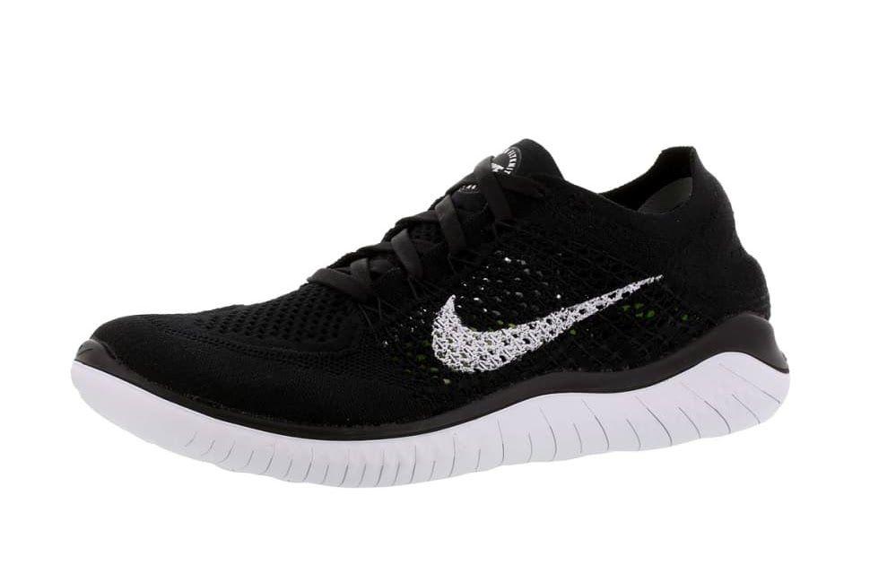 newest 0dcd3 159c5 Nike Free RN Flyknit 2018 - Chaussures running pour Femme - Noir