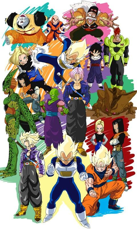 Dragon Ball Z Perfect Cell Art Silk Poster 12x18 24x36