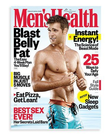 Love this Men's Health Magazine Subscription on #zulily! # ...