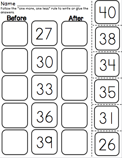 Pin On Math For K1