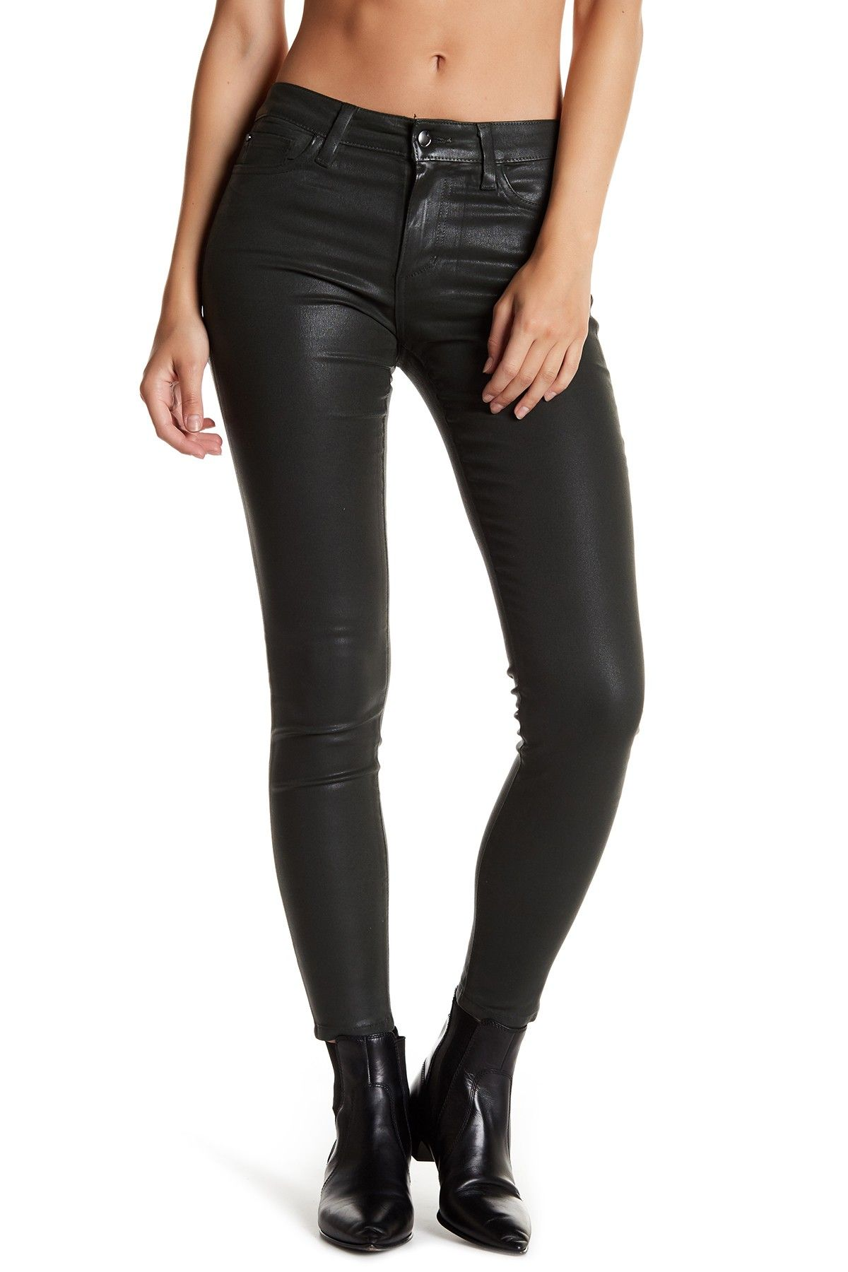 625d308e4f Joe's Jeans The Icon Mid Rise Skinny Ankle Coated Jean | Womens ...