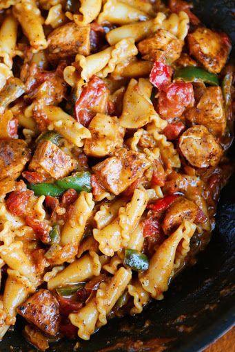 Chicken Fajita Pasta images