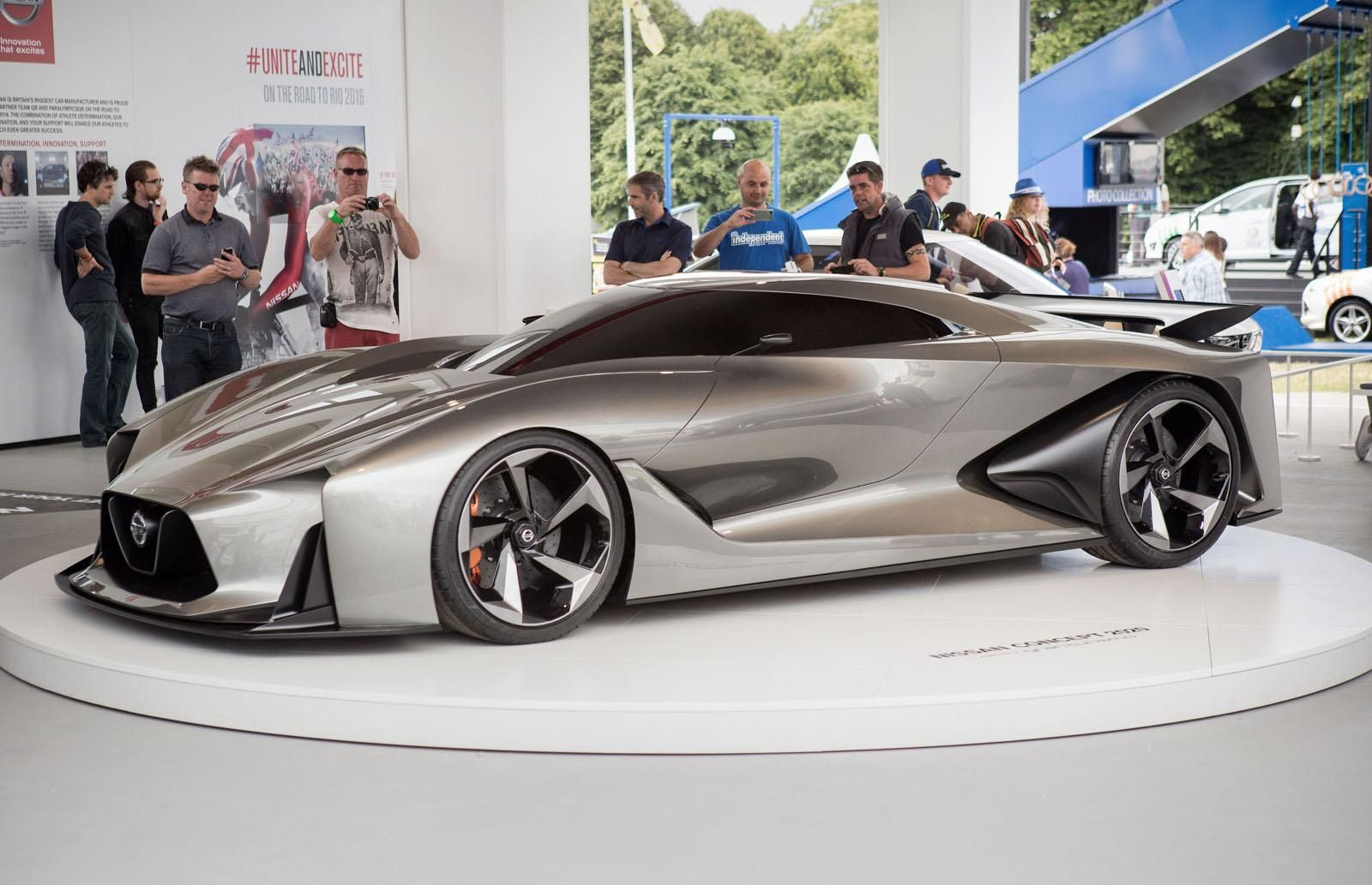 The Nissan Concept 2020 Vision Gran Turismo Was Presented At Goodwood Nissan Gtr Nissan Gt R Nissan Gt
