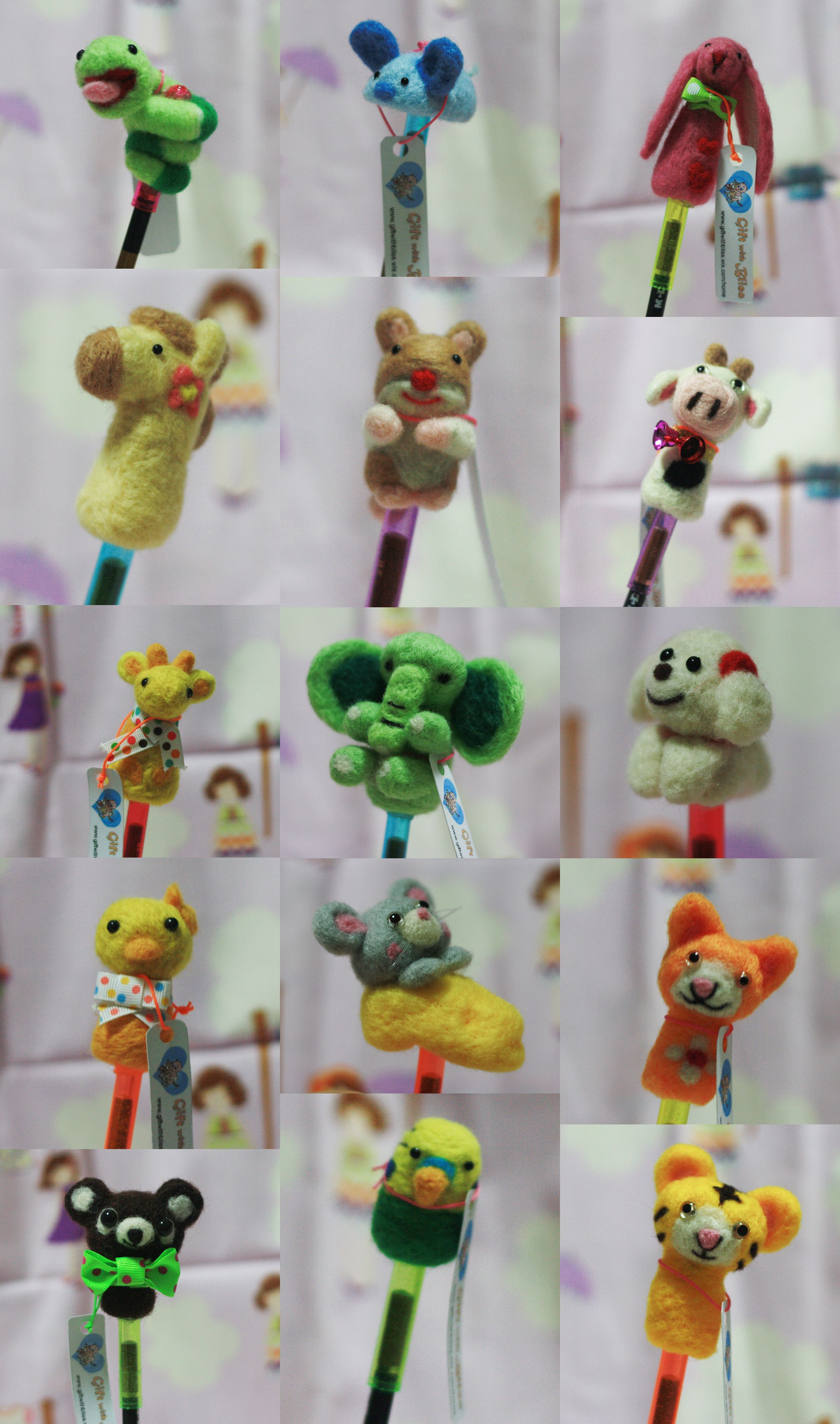 Pencil topper from gift with bliss! http://www.giftwithbliss.wix.com/home