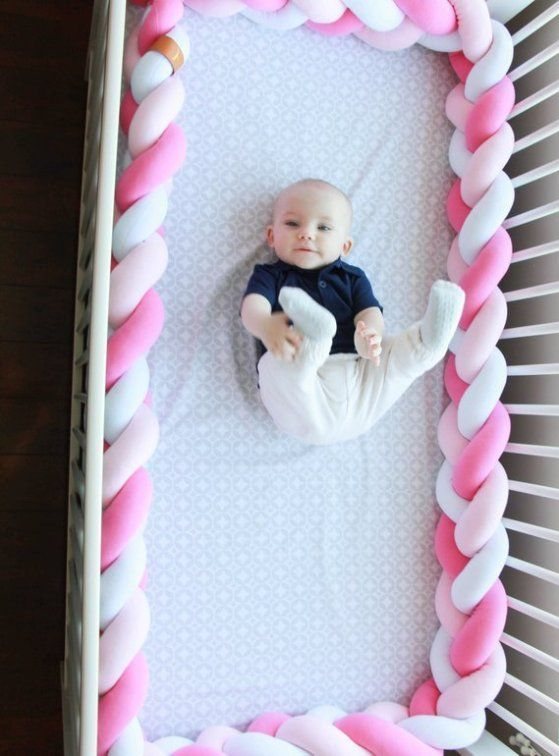 Braided Crib Bumper Diy