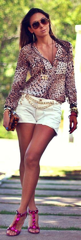 Shorts jeans branco by MacStile Jeans