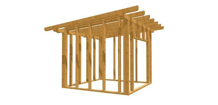 Gartenhäuschen Bauplan 3m x 3m (mit Bildern) Gartenhaus