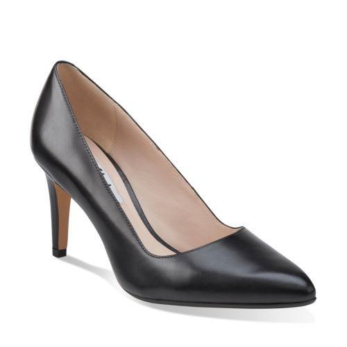 Womens Shoes Clarks Dalhart Sorbet Black Suede