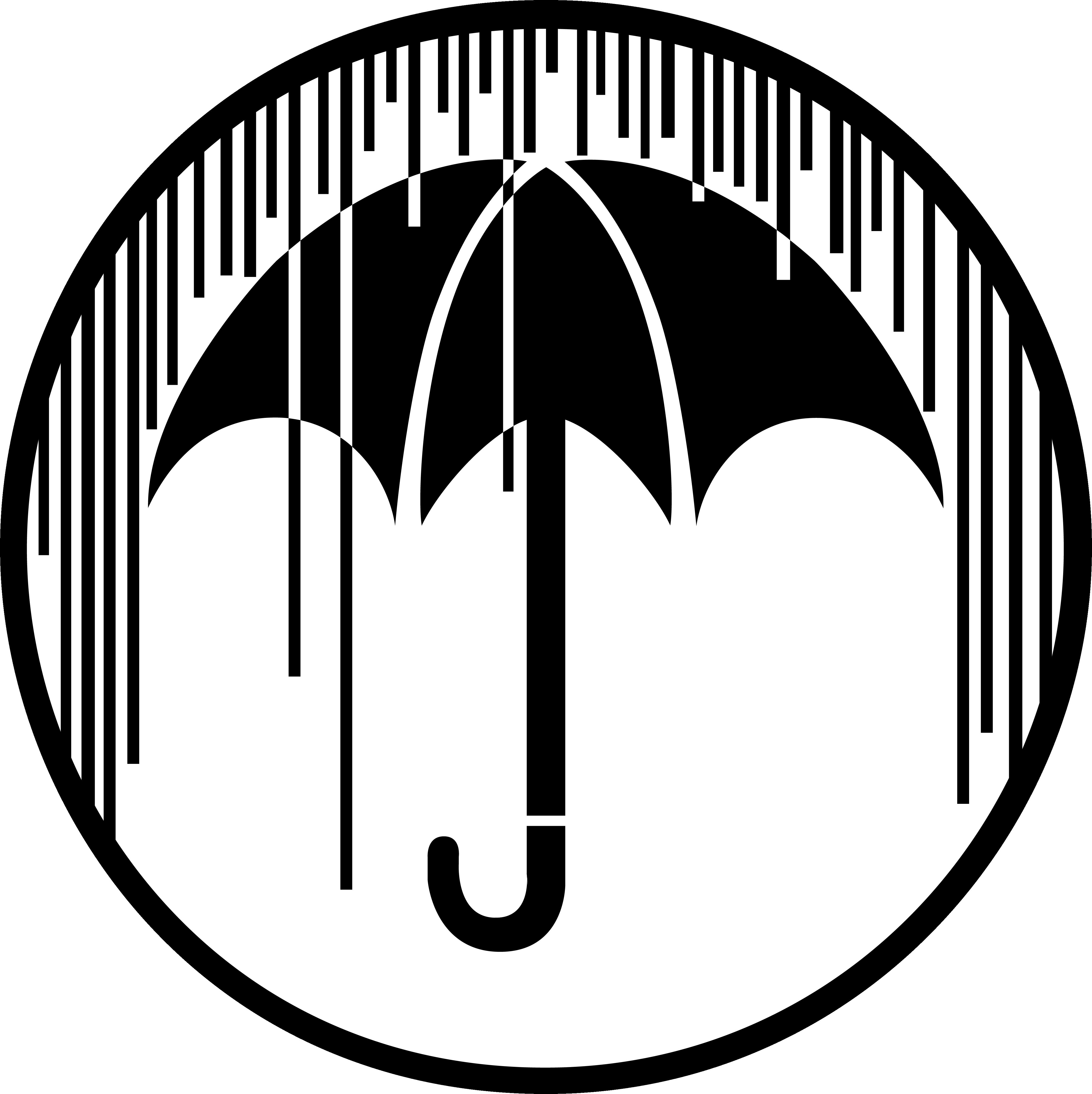 The Umbrella Academy Logo Sticker By Lmesmcc In 2021 Academy Logo Logo Sticker Umbrella