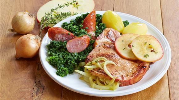 Grünkohl | Rezept | Grünkohl, Grünkohl rezept und Deutsche küche