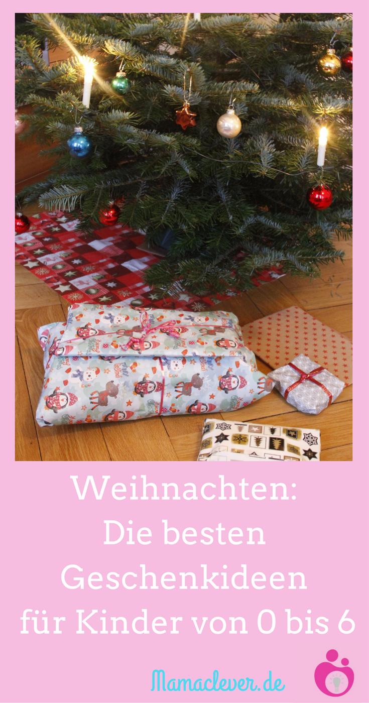 Geschenkideen zu Weihnachten für Kinder bis sechs Jahre | Sinnvolle ...