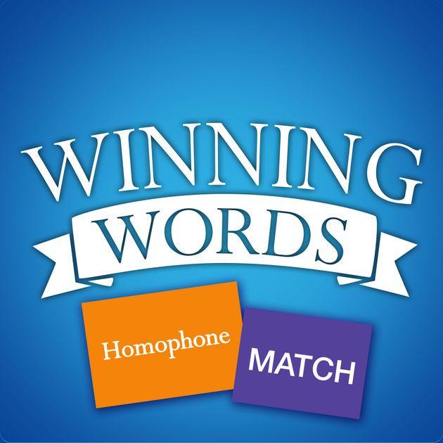 New Ios App Homophone Match Game Winning Words Llc