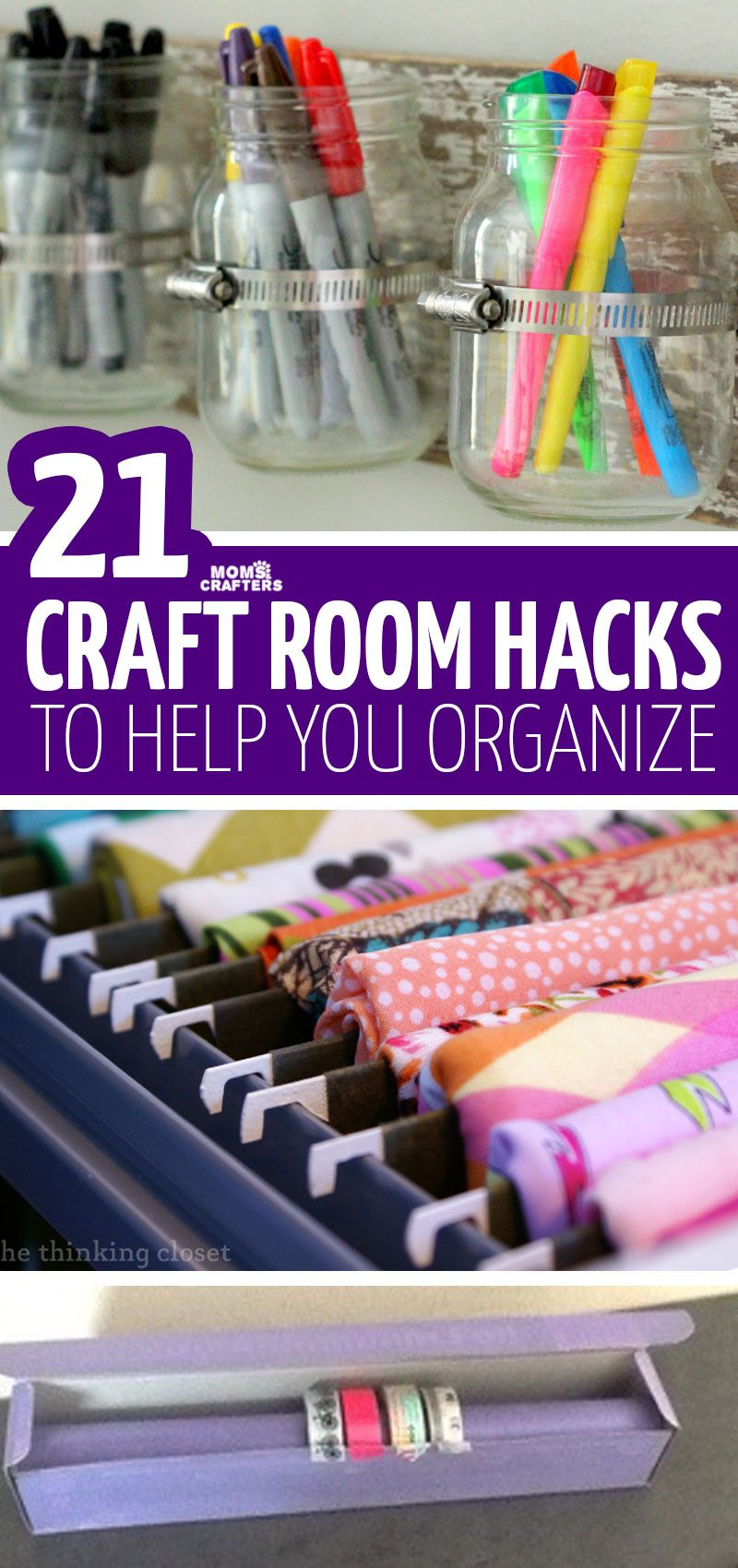 Craft Room Organization Hacks images