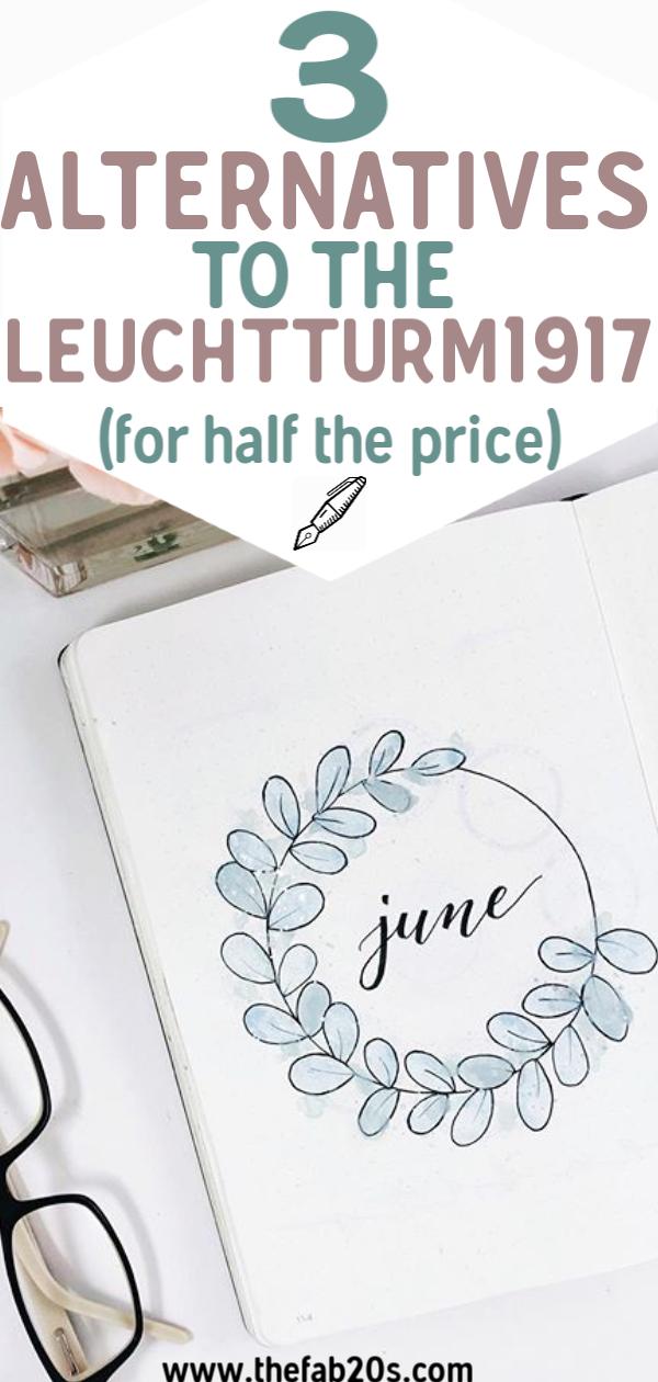 3 Best Cheap Bullet Journal Notebooks - TheFab20s