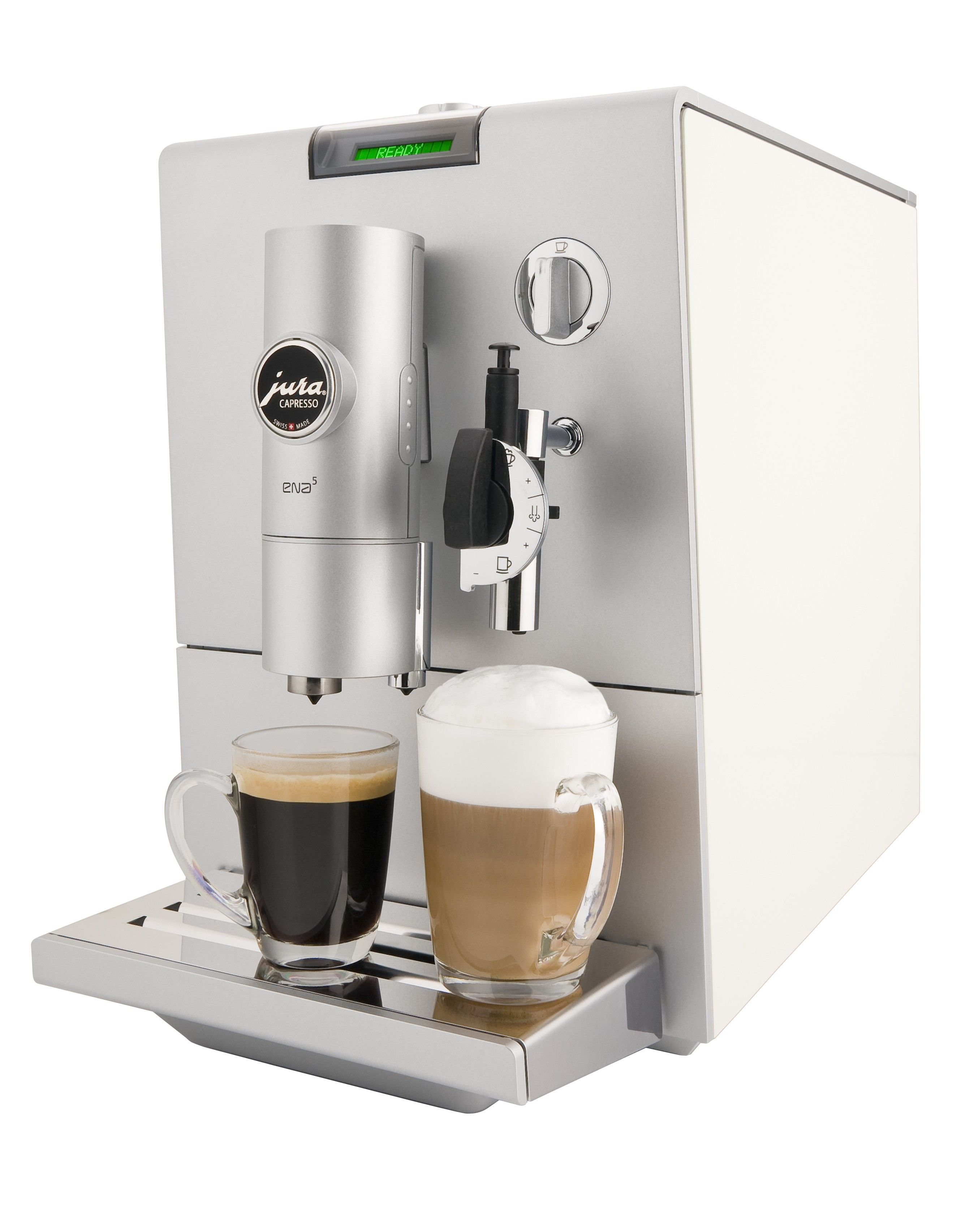 Refurbished Jura Capresso ENA 5 Black Coffee center