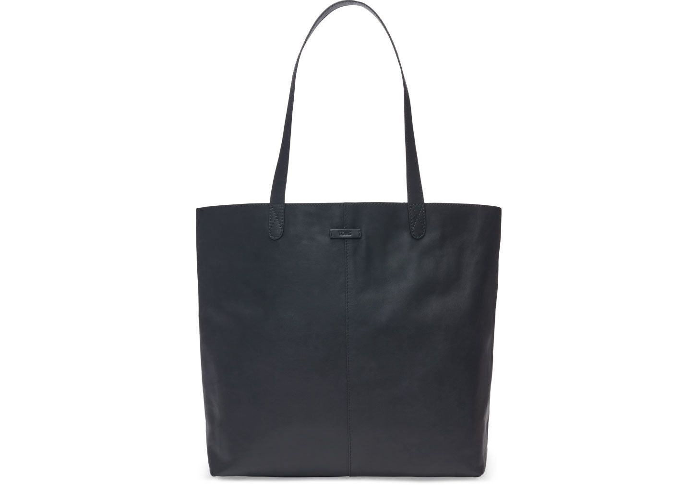 d0fc25bdb9f TOMS - Matte Black Leather Cosmopolitan Tote Bag | Products | Toms ...