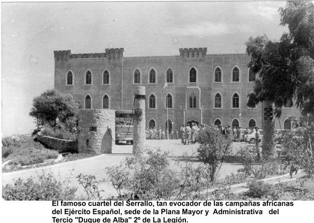 II Tercio. Cuartel de Serrallo