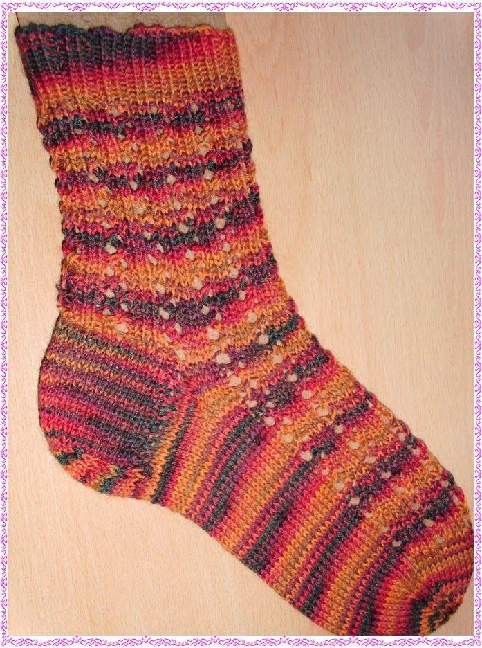 Mellis Muster | socken | Pinterest | Muster, Socken häkeln und ...