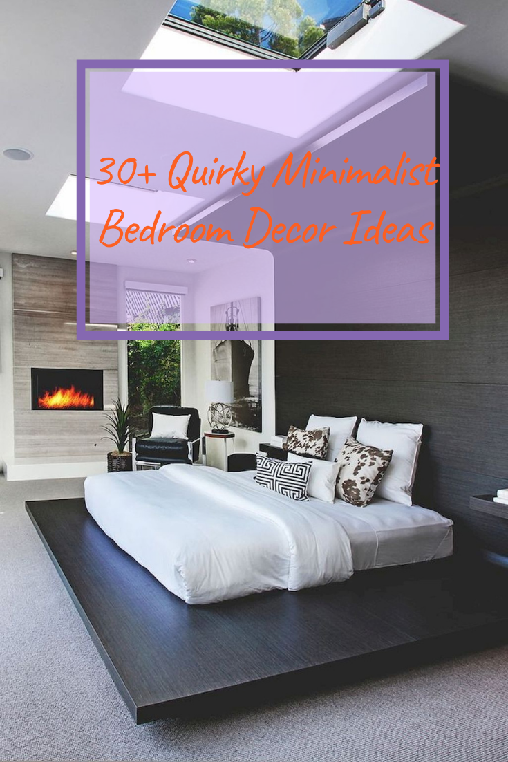 30+ Quirky Minimalist Bedroom Decor Ideas #bedroomdecorideas