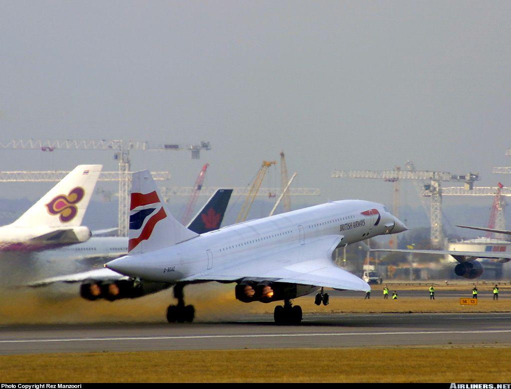 Concorde at LHR 2003
