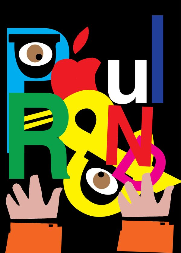 A tribute to Paul Rand Posters by murat yüksel, via ...
