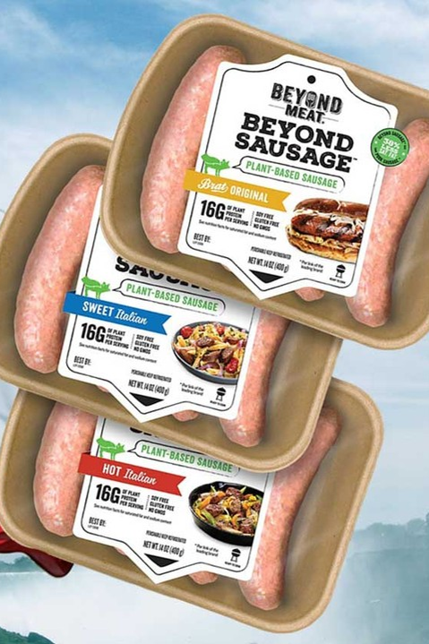 Vegan Beyond Meat Sausages Just Launched In Canada Sausage Fresh Food Packaging Food Shopping List