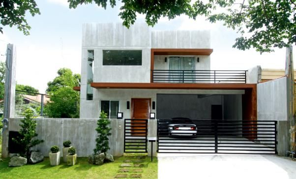 Modern industrial home designs