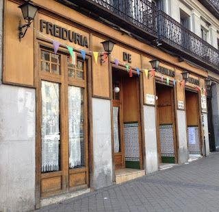 Freiduría De Gallinejas Embajadores Secretos De Madrid Fotos Antiguas Madrid Lugares De España