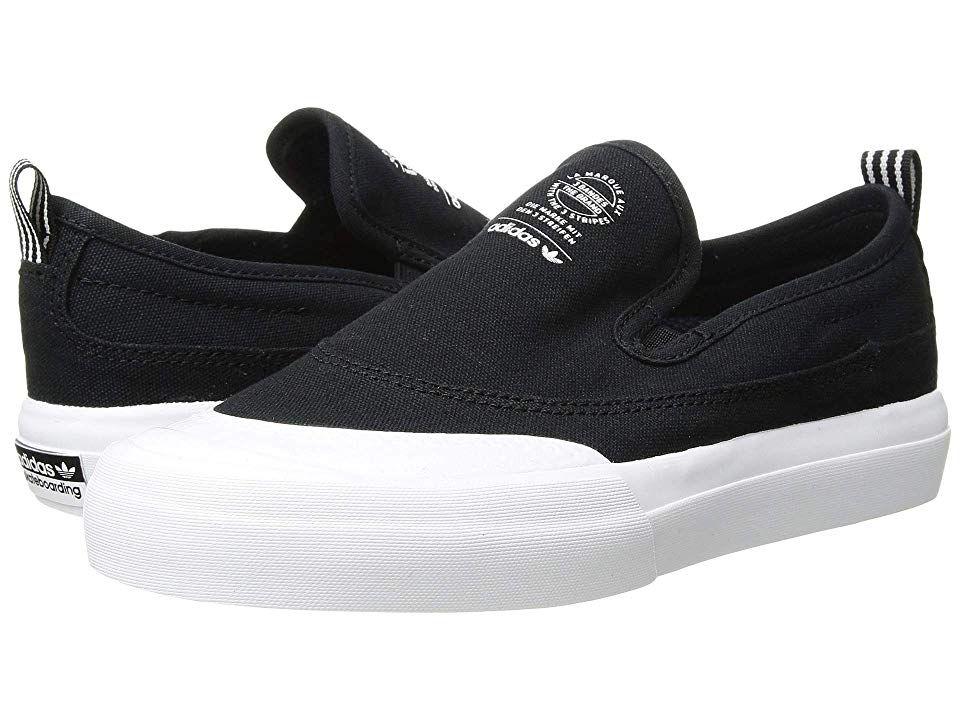adidas Skateboarding Matchcourt Slip Men's Skate Shoes Black