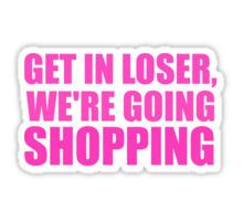 Mean Girls Print Stickers Mean Girl Quotes Cute Laptop Stickers
