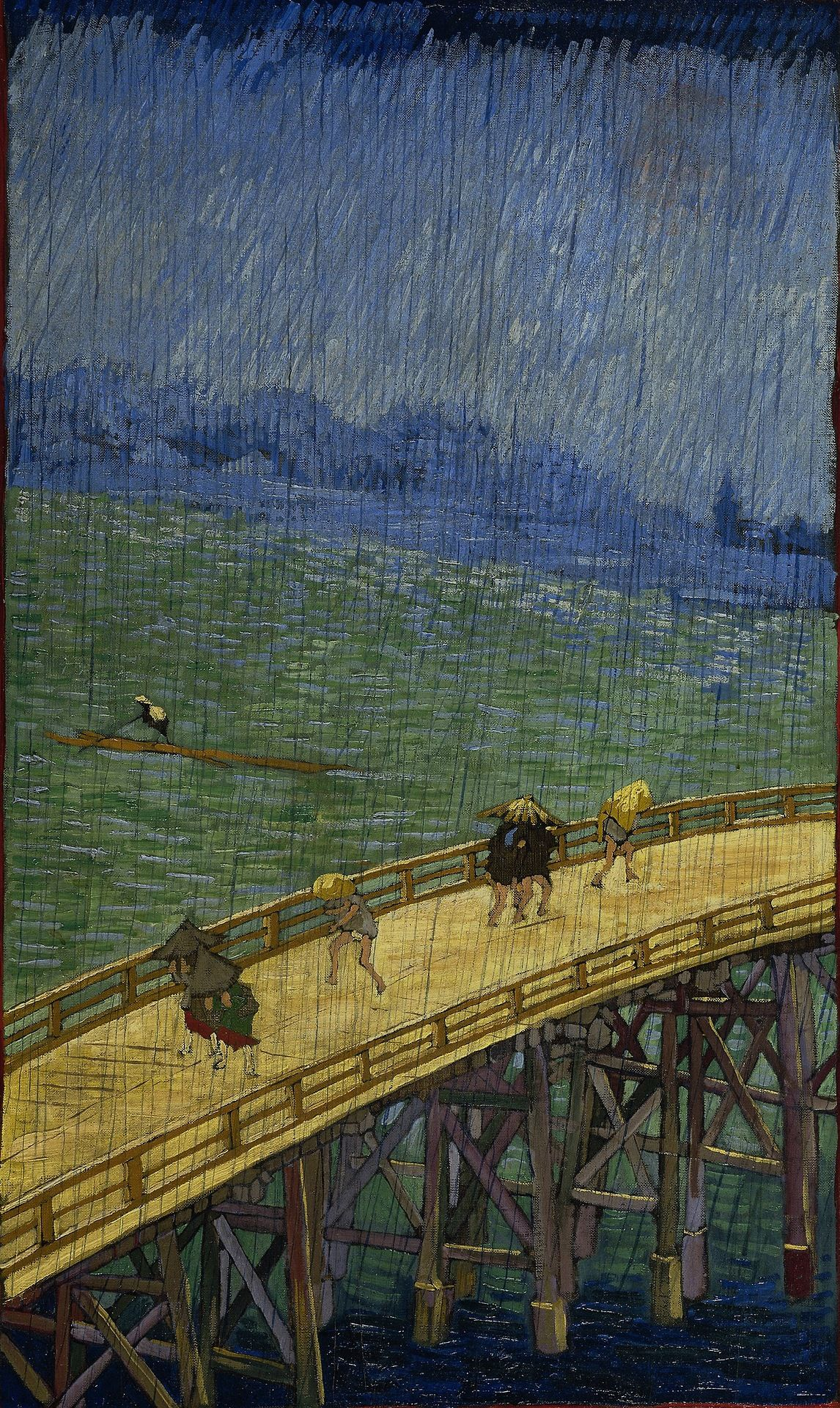 vincent van gogh japonaiserie after hiroshige journal take notes write down memories in this 150 page lined journa