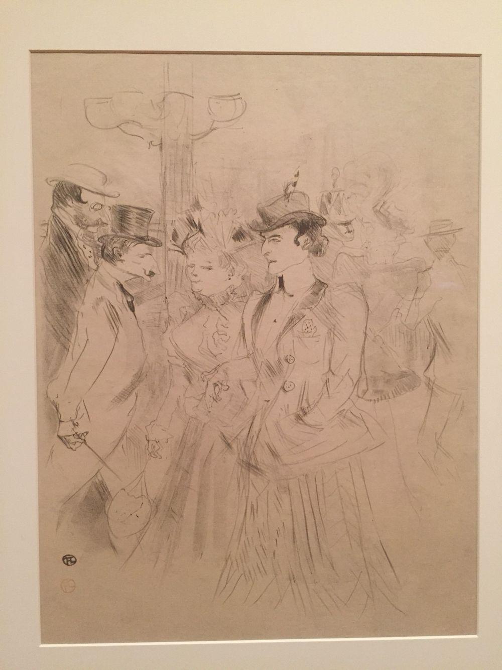 The Foyer Promenoir Henri De Toulouse Lautrec Museum