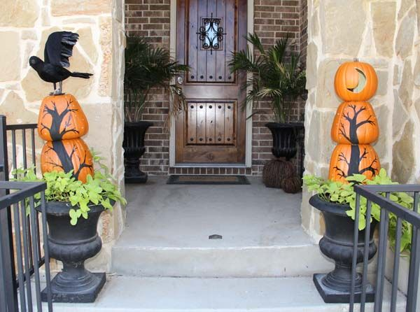 halloween porch and entryway ideas from subtle to scary diy