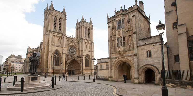Bristol Cathedral. Copyright VisitEngland