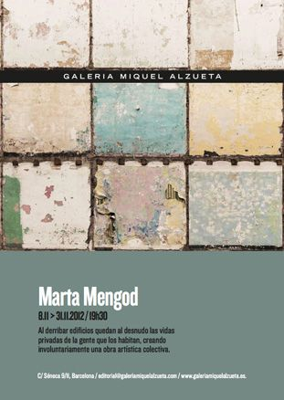 Marta Mengod  Organiza y/o se celebra:  -Miquel Alzueta