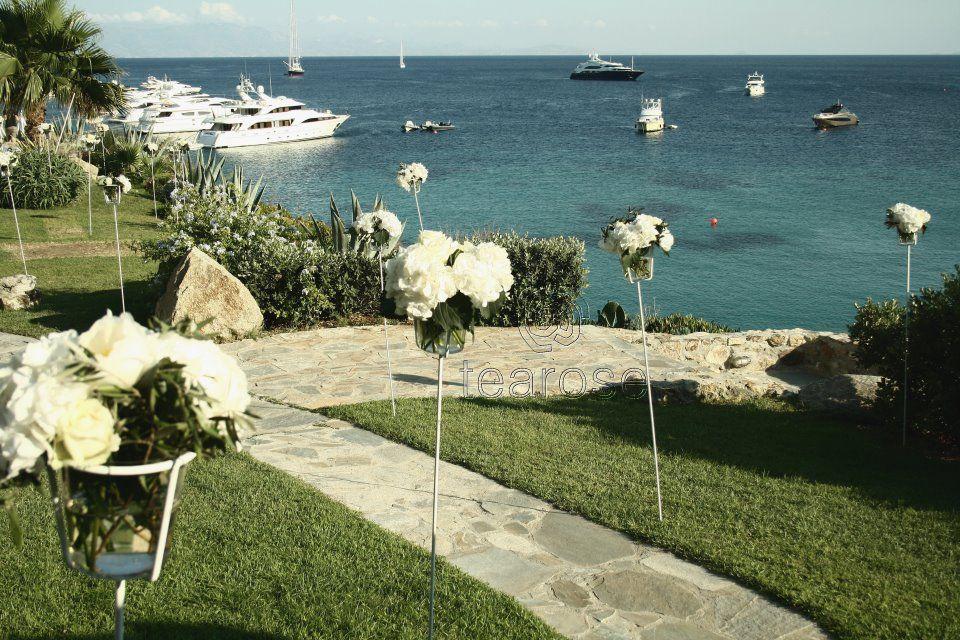 wedding at the sea <3