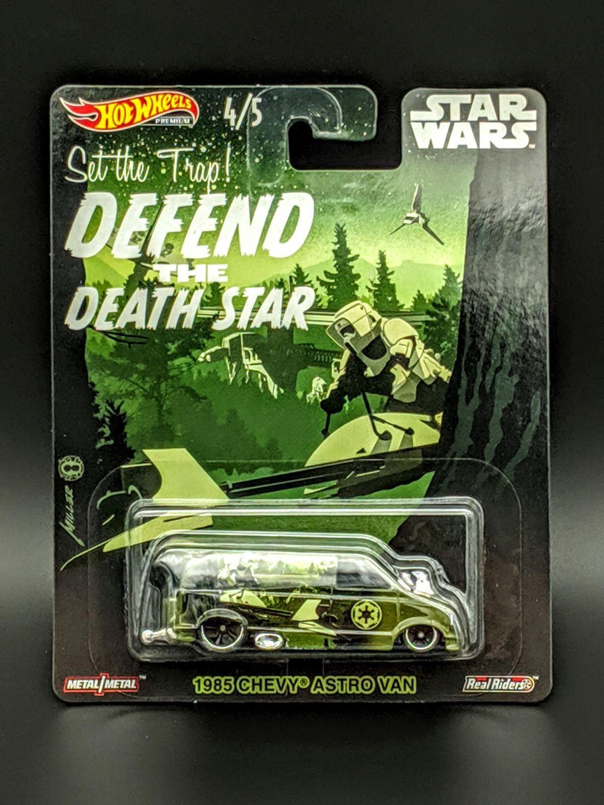 Hot Wheels Star Wars 1985 Chevy Astro Van Hot wheels