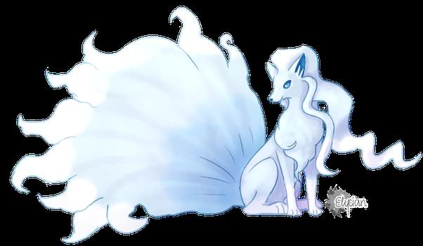 Alola Ninetales by Elycian   Alolan Vulpix/Ninetales   Pinterest ...