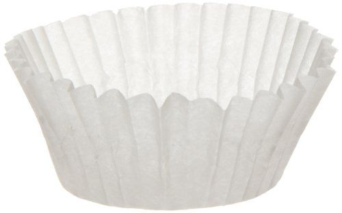 Dixie 8aax Fluted Baking Circle Cup Dry Wax Coating 163 Diameter