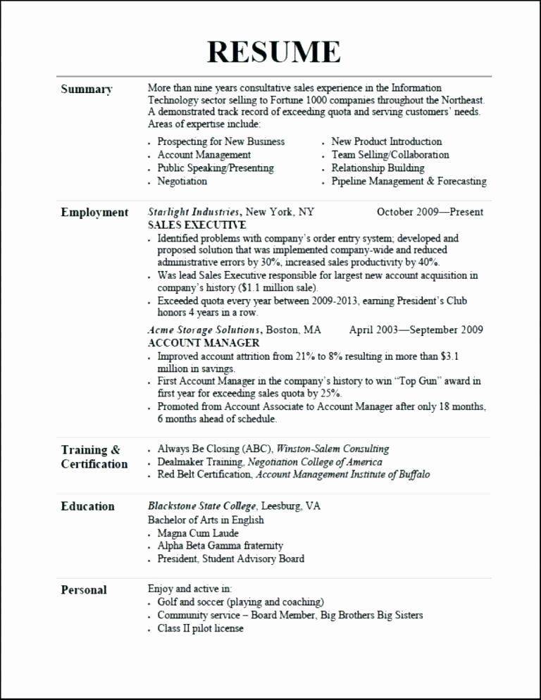 23 headline for resume examples in 2020