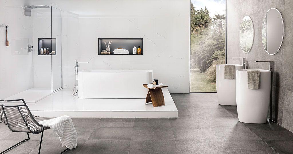 Praga amplitud y elegancia con la nueva colecci n - Pavimentos ceramicos interiores ...